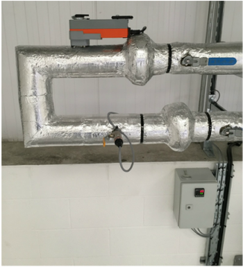 Motorised Pressure Relief Bypass System